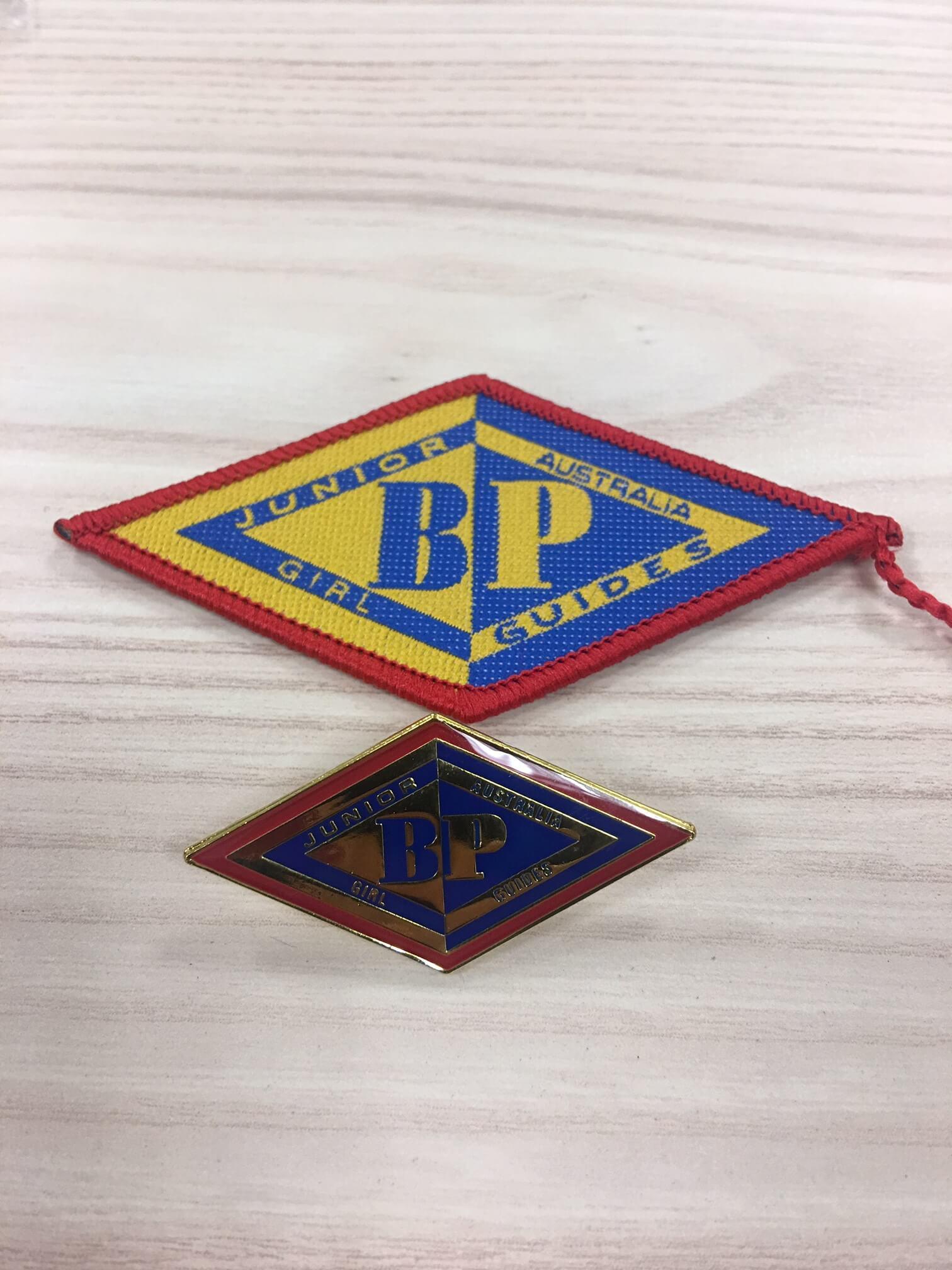 Junior BP Badge Cloth